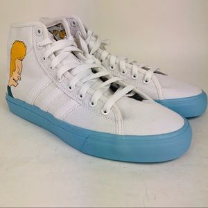Adidas Matchcourt High Remix Beavis & Butthead 8.5
